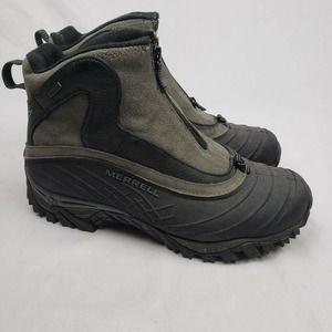 Merrell Mens Isotherm Zip Waterproof Winter Boots